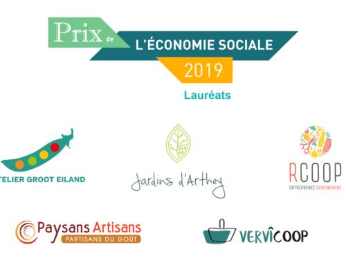 Lauréats du prix économie sociale 2019